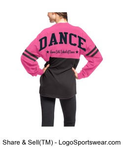 YOUTH Long Sleeve Jersey Tee DANCE Design Zoom