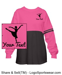 ADULT Long Sleeve Jersey Tee L.C. ELITE (CUSTOMIZE IT!) Design Zoom